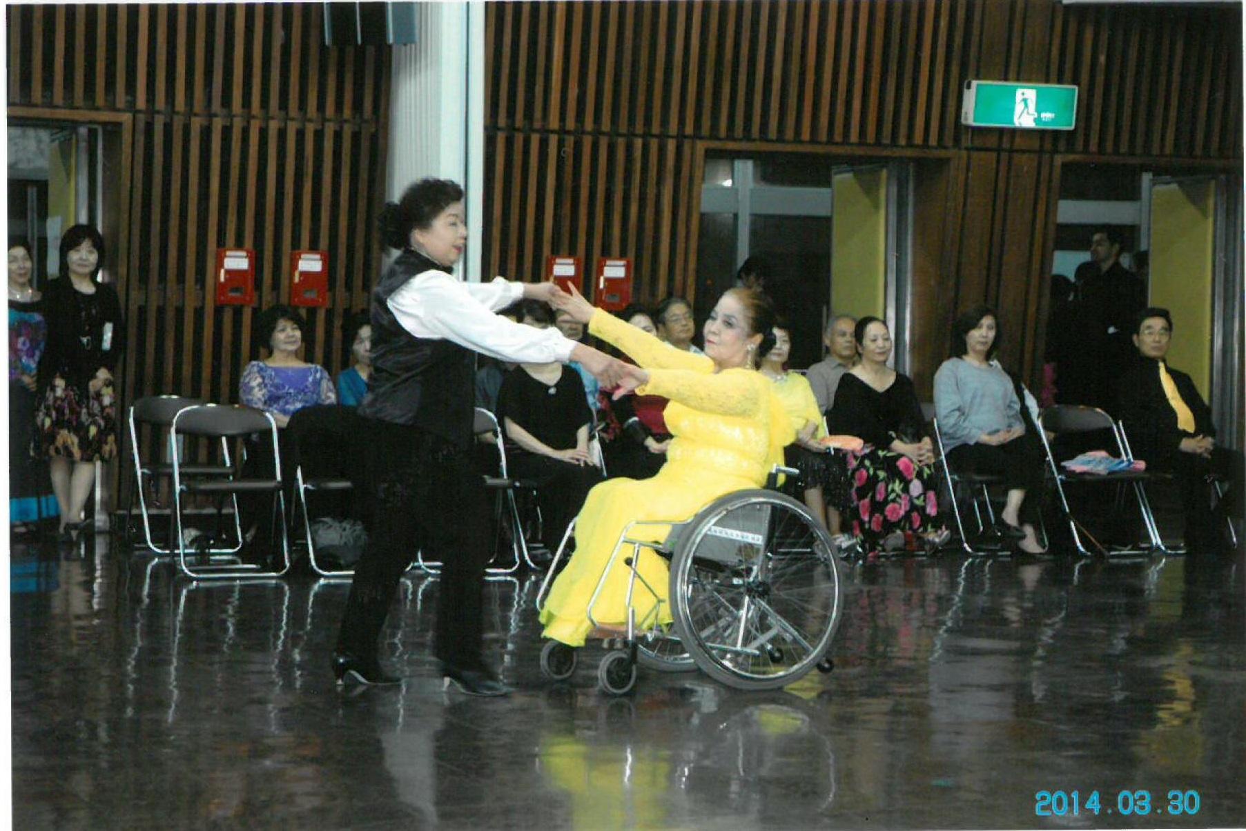社交ダンス④