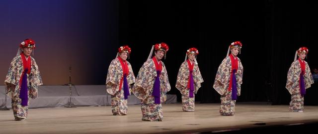 4 舞踊 上原ぬ島、でんさ節 勤王流山里恵子舞踊研究所