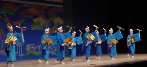 9 舞踊 鶴亀、矼ゆば節 勤王流祥吉の会上里愛舞踊研究所